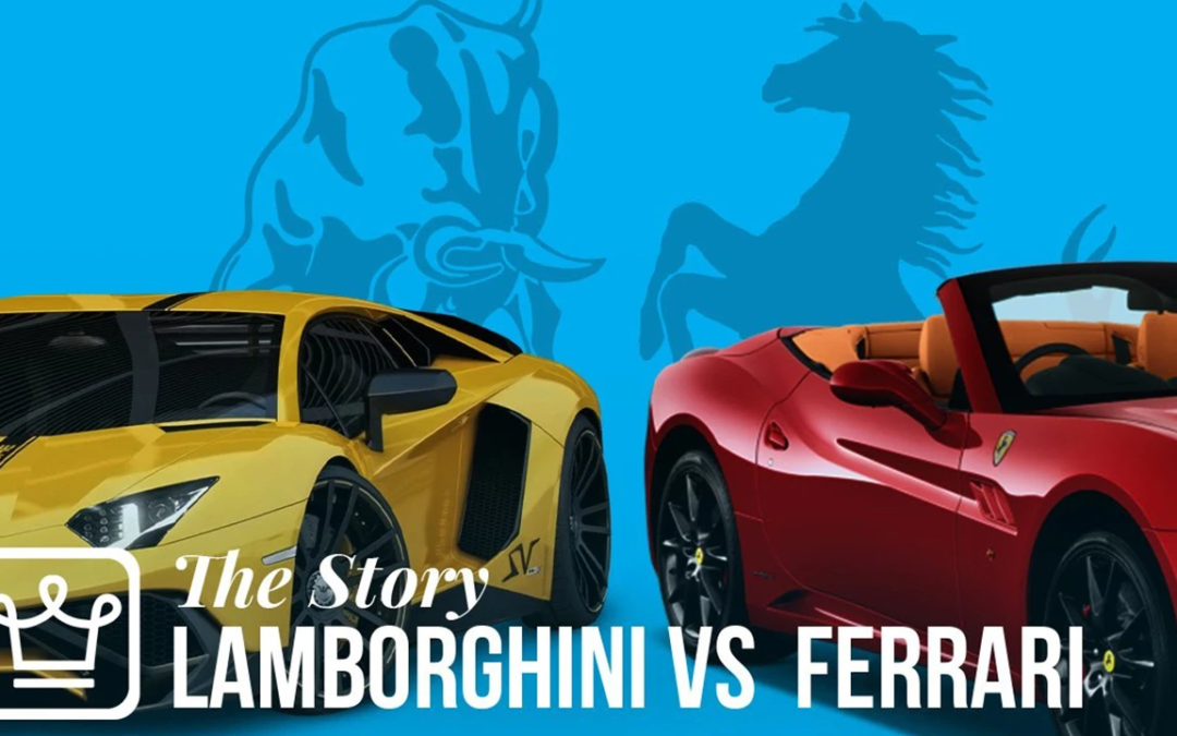 The Epic Story Behind Ferrari and Lamborghini's Rivalry