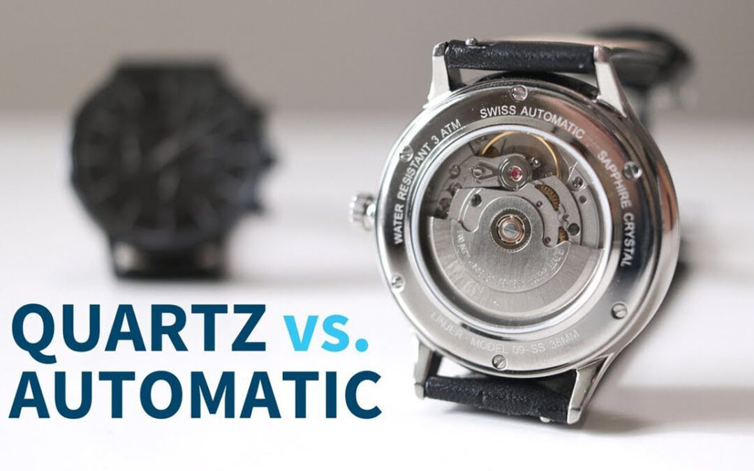 Watch Guide: The Difference Between Quartz, Mechanical & Automatic