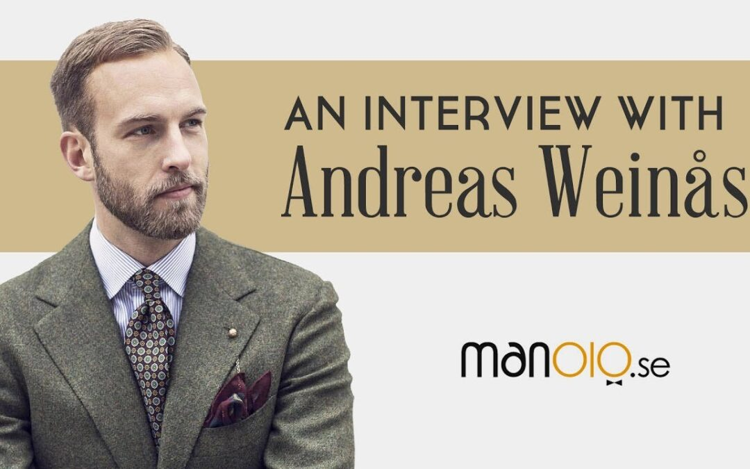 Men's Style Tips from Andreas Weinås