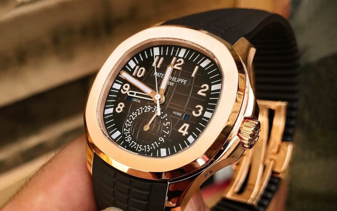 Watch Review: The Patek Philippe Aquanaut 5164R