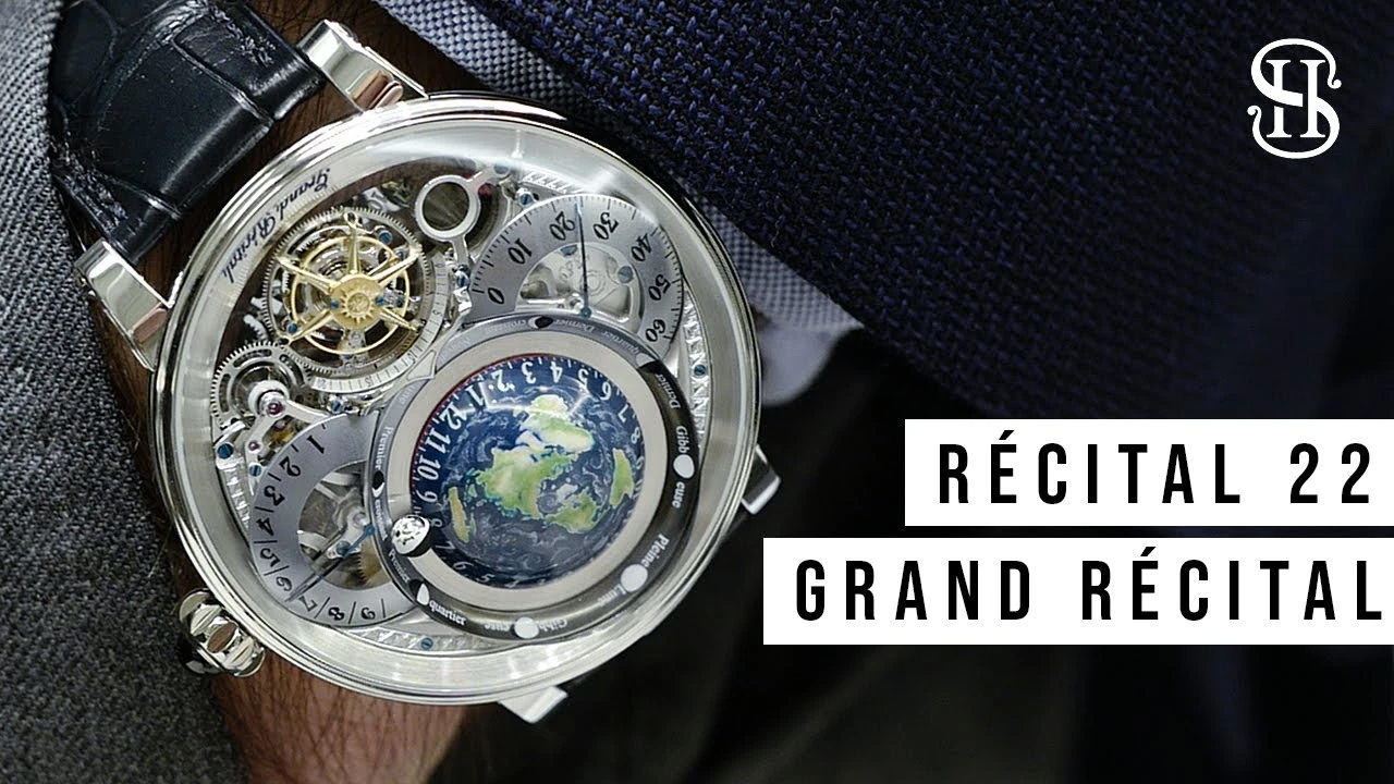 Watch Review: The Bovet Récital 22 Grand Récital