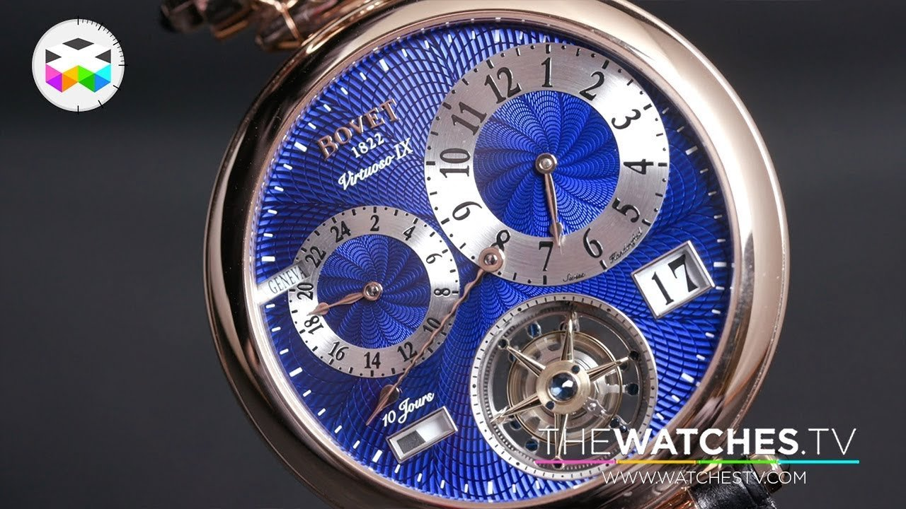 Bovet 1822 New Timepieces at the 2019 SIHH