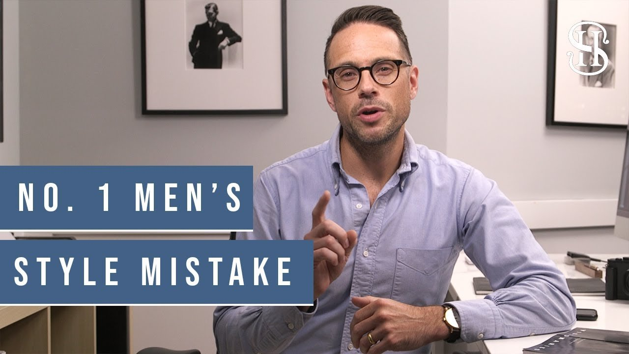 The Men's Style Mistake You Can't Afford to Avoid