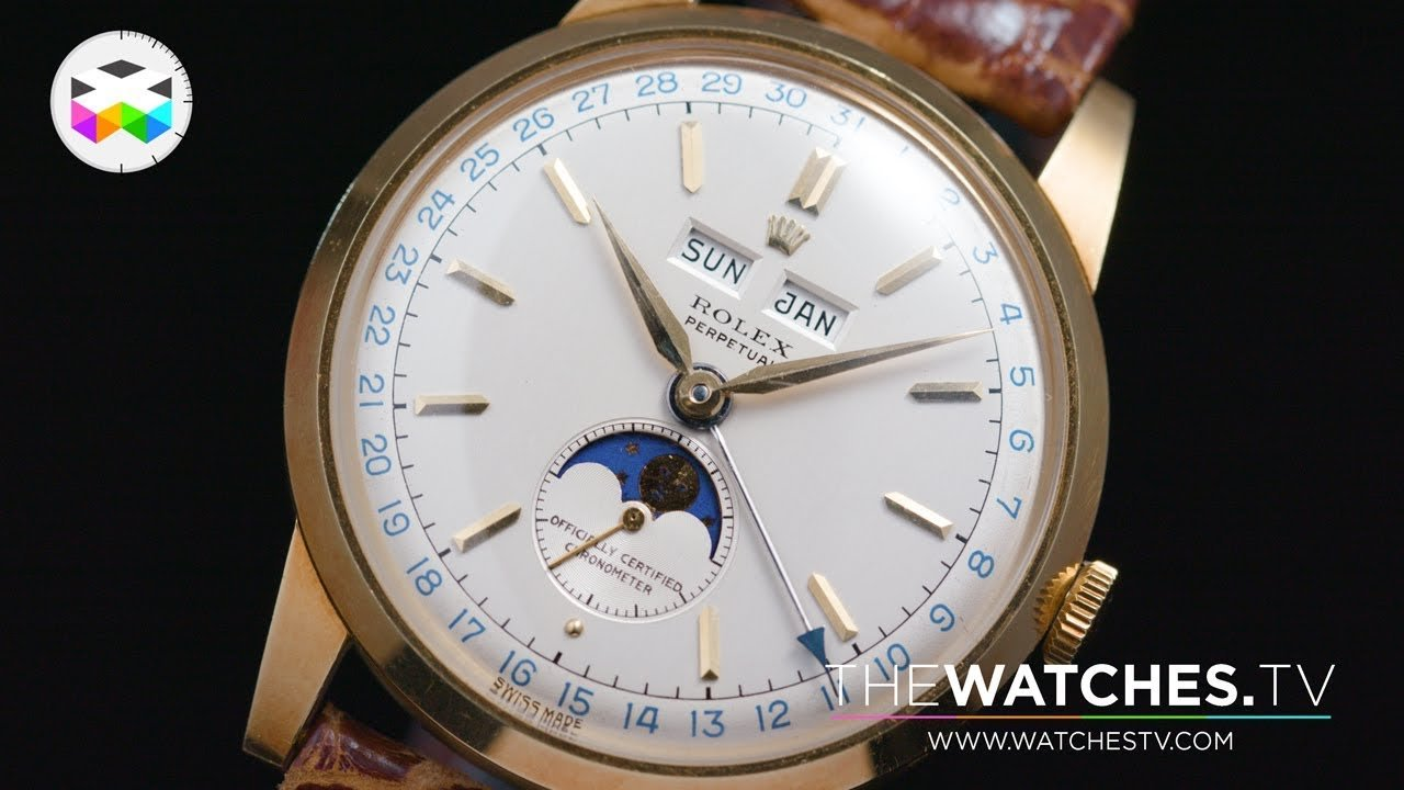 Rare Patek Philippe, Rolex, Breitling and Longines on Auction
